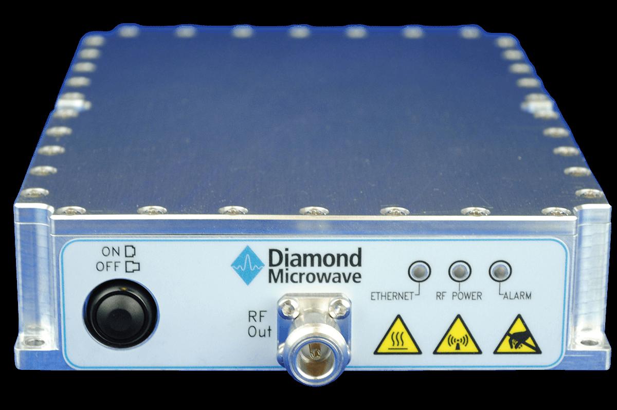 Diamond Microwave 400W X-Band GaN SSPA